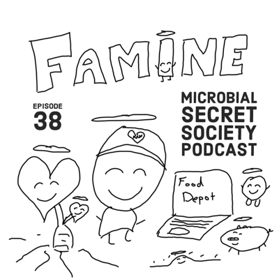 Cover art for #38 FAMINE and Viral Government Programming of Sovereignty