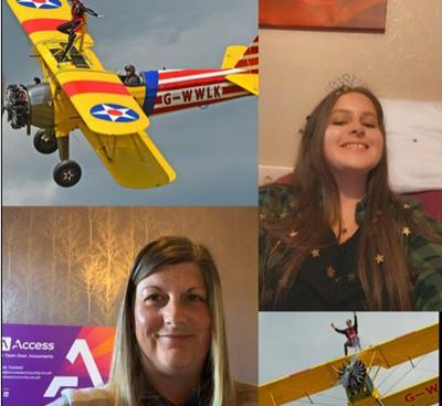 Cover art for Wing Walking in aid of the Childrens Bereavement Centre
