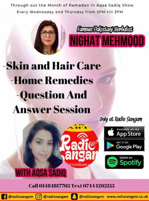 Cover art for Famous Pakistani Herbalist Nighat Mehmood Live With Aqsa Sadiq ( Episode 3)