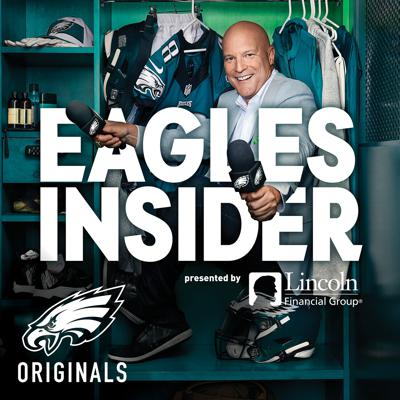 Imagine having total access to the entire Philadelphia Eagles organization to talk football, life, pop culture, and anything else. Welcome to Dave Spadaro's life. Several times a week, Eagles Insider —  an Official Eagles Entertainment podcast —  takes you behind the scenes with the team, asking every type of question to players, coaches, front office personnel, fans, and personalities related to the team. With more than three decades with the team, Dave gets access that no one else can. There is no such thing as an offseason for Eagles fans, which is why Eagles Insider tells previously untold stories all year long.