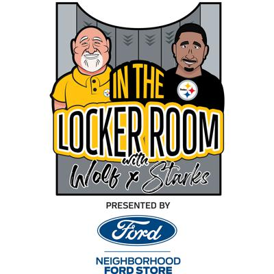 In the Locker Room with Wolf & Starks (Pittsburgh Steelers)