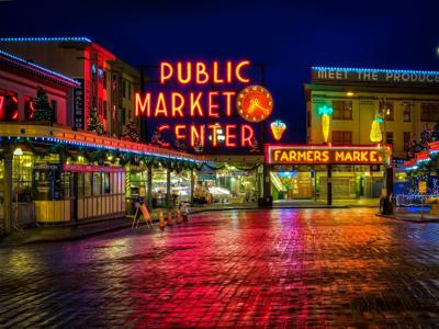 Cover art for Four Ghosts of Pike Place Market