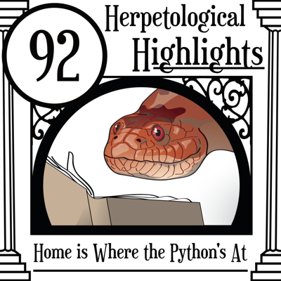 Cover art for 092 Home is Where the Python's at
