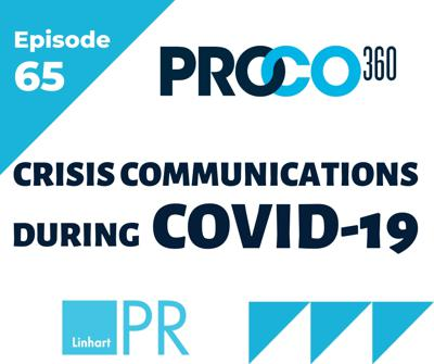 Cover art for COVID-19 - Crisis Communications Advice from a PRO