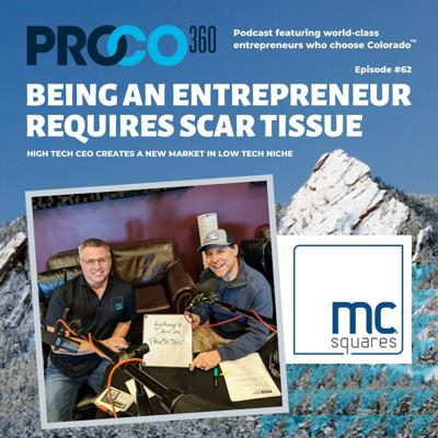 Cover art for Being an entrepreneur requires scar tissue.