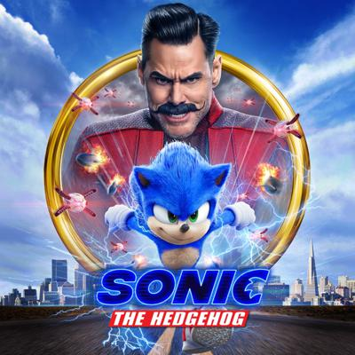 Cover art for Sonic the Hedgehog - Movie Review