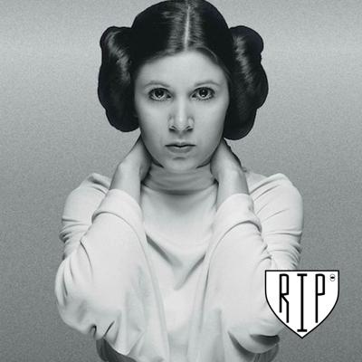 Cover art for RIP 26: Remembering Carrie Fisher