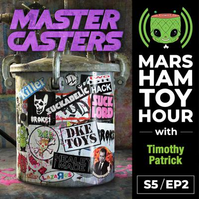 Cover art for Marsham Toy Hour: Season 5 Ep 2 - Master Casters with Timothy Patrick