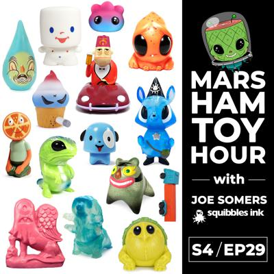 Cover art for Marsham Toy Hour: Season 4 Ep 29 - Squibbles Ink