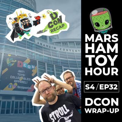 Cover art for Marsham Toy Hour: Season 4 Ep 32 - DCON 2019 Wrap Up