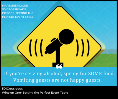 Cover art for Wine on One- Setting the Perfect Event Table
