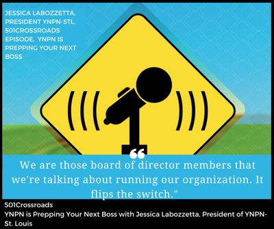 Cover art for YNPN is Prepping Your Next Boss with Jessica Labozzetta, President of YNPN- St. Louis