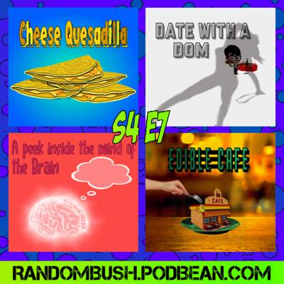 Cover art for 4.07 -  Cheese Quesadilla, Date with a Dom, the Edible Cafe, and A peek Inside the Mind of a Brain