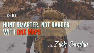 Cover art for Zach Sandau using OnX Maps to Improve Your Hunting Sucess 11.19
