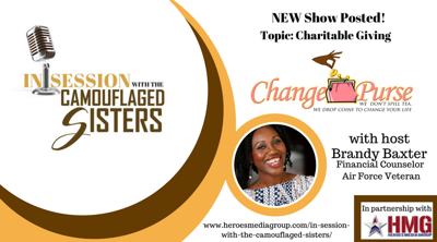 Cover art for Change Purse With Brandy Baxter - Charitable Giving