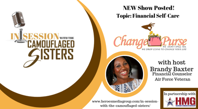 Cover art for Change Purse with host Brandy Baxter - Financial Self-care