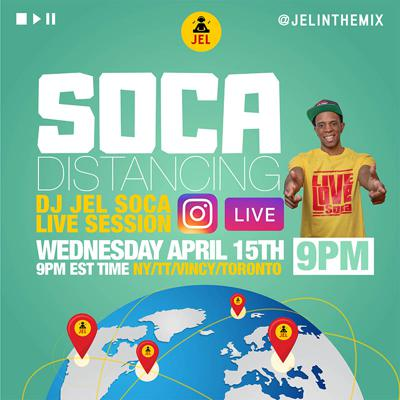 Cover art for LIVE SESSION: SOCA DISTANCING APRIL 15