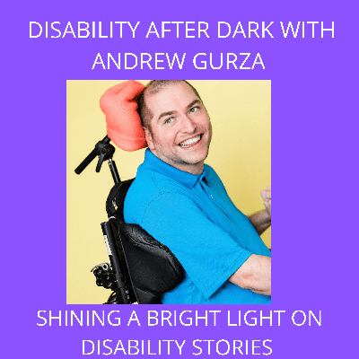 """Cover art for Episode 240 - """"I'm Not Defined by My Cerebral Palsy, I am Defined by My Art"""" - David From 6 Wheel Painting Co."""