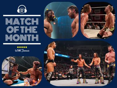 Cover art for Match Of The Month with Jamesie: February 2020 (featuring JP Houlihan)