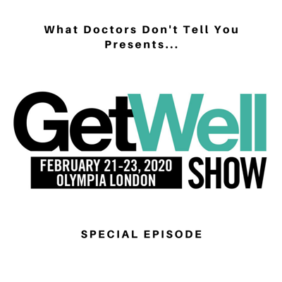Cover art for The Get Well Show Episode: Speakers Interviews