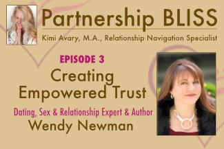Cover art for Creating Empowered Trust - Kimi Avary interviews Wendy Newman
