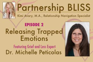 Cover art for Releasing Trapped Emotions - Kimi Avary interviews Dr. Michelle Peticolas