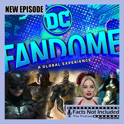 Cover art for DC Fandome | Facts Not Included Tangent Friday