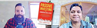Cover art for Passive Investing In Commercial Real Estate with James Kandasamy