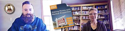 Cover art for The Idiots Guide to Making Money with Rental Properties. Kimberly Veazey