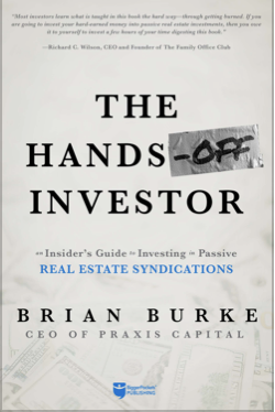 Cover art for The Hands-Off Investor by Brian Burke