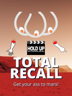 Cover art for Total Recall (1990)