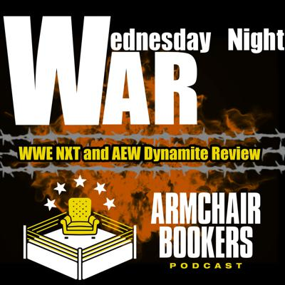 Cover art for The Wednesday Night War - AEW Dynamite and NXT Review (May 20th, 2020)