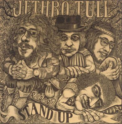 Cover art for 046: Jethro Tull - Stand Up (1969)
