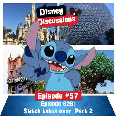 Cover art for Stitch takes over the podcast Part 2 - Episode 57