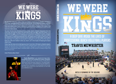 Travis Mewhirter releases new beach volleyball book: We Were Kings