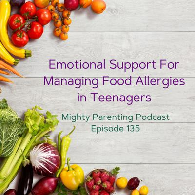Cover art for Emotional Support For Managing Food Allergies in Teenagers | Tamara Hubbard | Episode 135