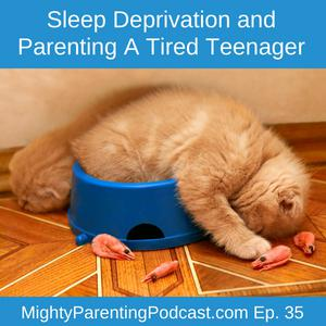 Cover art for Sleep Deprivation and Parenting A Tired Teenager | Frances Robbins | Episode 35