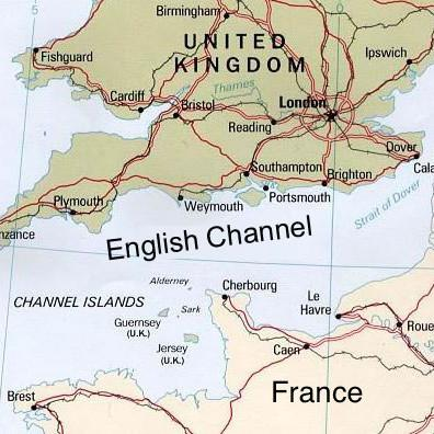 Cover art for Ocean swimming... the English Channel
