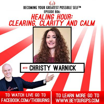 Cover art for Healing Hour: Clearing, Clarity & Calm With Christy Warnick