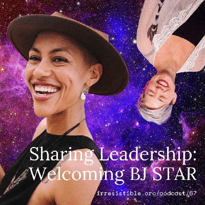 Cover art for Sharing Leadership: Welcoming BJSTAR, our new Co-Director!