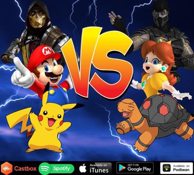 Cover art for Episode 133: Popular Video Game Characters vs Other Characters