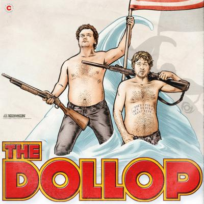 Cover art for Episode 13 - Interview with Dave + Gareth from The Dollop