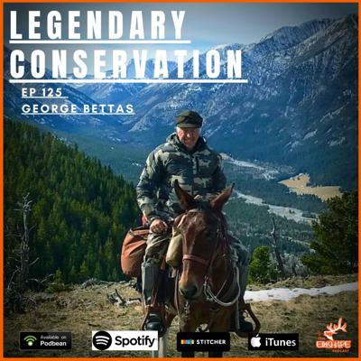 Cover art for Legendary Conservation with Geroge Bettas