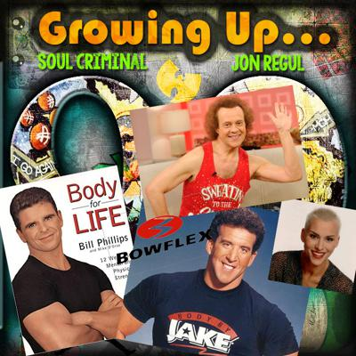 Cover art for EP12...90'S FITNESS TRENDS AND OUR OWN WEIGHT LOSS COMPETITION