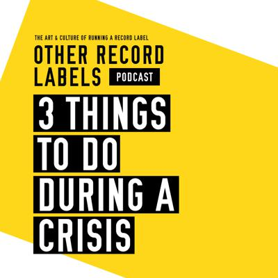 Cover art for 3 Things To Do During a Crisis