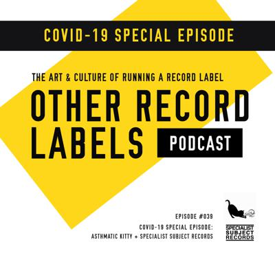 Cover art for SPECIAL: COVID-19 Episode (Asthmatic Kitty Records, Specialist Subject Records)