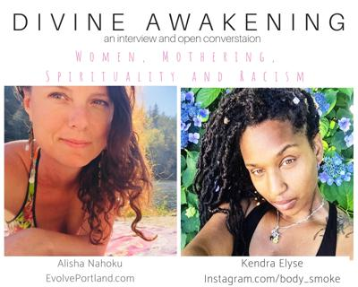 Cover art for Divine Awakening - A Conversation with Kendra Elyse