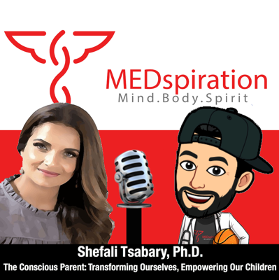 Cover art for Shefali Tsabary, Ph.D. - The Conscious Parent: Transforming Ourselves, Empowering Our Children