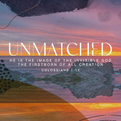 Cover art for 'Unmatched: Palm Sunday' with Ps Julia McDonell - 28th March 2021