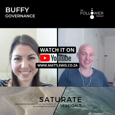 Cover art for Saturate session 7. Buffy and the sphere of Governance